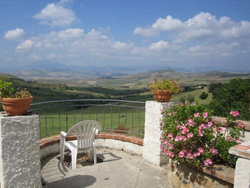 Sicilian sojourn an authentic taste of rural sicily for Use terrace in a sentence